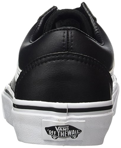 Mixte Leather Skool Old Baskets Vans Adulte qIY4w1E