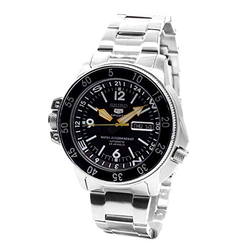 Men's Automatic Stainless Steel Dress Watch, Color:Silver-Toned (Model: ) - Seiko SKZ211J1