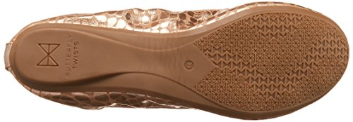Butterfly Gold Shoes Gold Metallic Sophia Twists Rose 040fR7