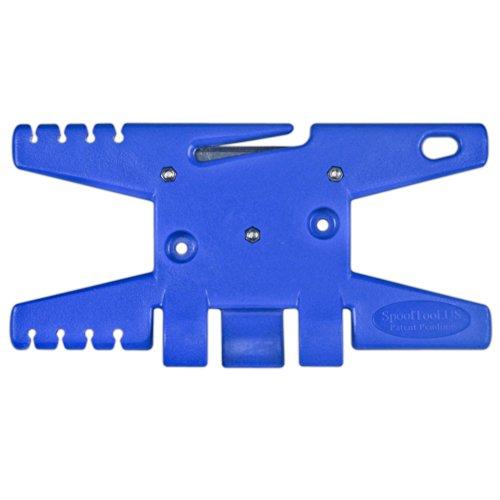 Paracord Spool Tool (Blue)- Holds up to 100' of Parachute Cord - Parachute Cord Wrap