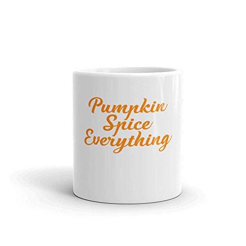 Designer Vacuum Carafes (LIZNICE - Pumpkin Spice Everything Fun Fall Coffee or Tea Mug Pumpkin Spice Is My Favorite Season Autumn Mug, MUG 11oz)