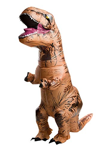RUBIE'S COSTUME COMPANY INC Teen Jurassic World: Fallen Kingdom Inflatable T-Rex Costume ()