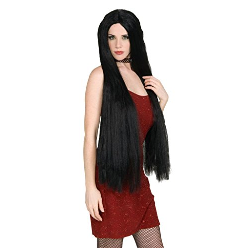 [Rubie's Costume Extra Long Witch Wig, Black, One Size] (Princess Jasmine Wig)