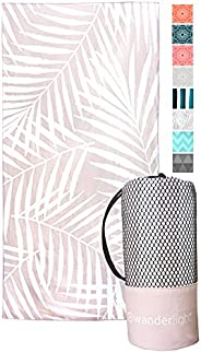 Quick-Dry Beach & Yoga Microfiber Towel - Sand-Free, Super Absorbent, Compact - Perfect for Camping, Trave