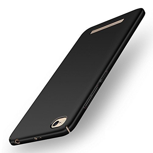 huge selection of b5265 f8413 Ultimate Collection Redmi 4A Back Cover Redmi4A Hard Back Cover,Black