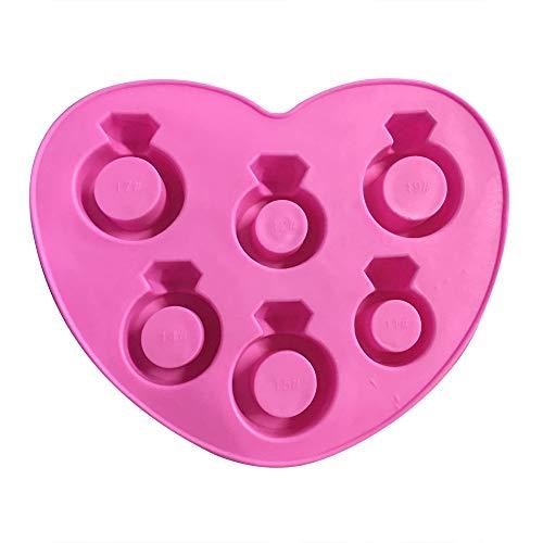 BeautyShe Diamond Shape Popsicle Molds Set - Ice Pop Molds Maker,BPA Fre Ice Pop Makers-Garden Fresh Fruitsicle Frozen Pop Tray from BeautyShe