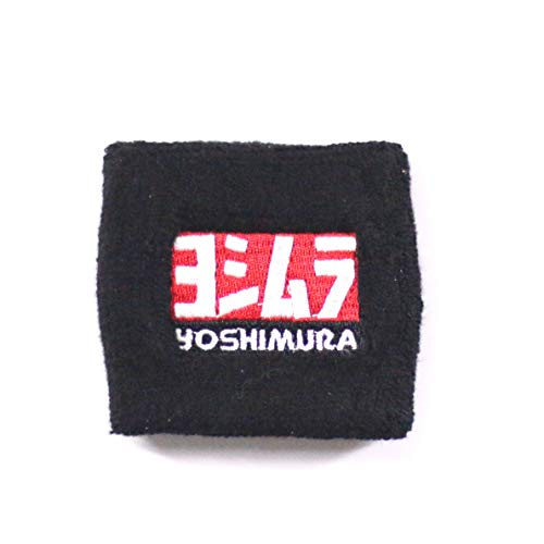 Moco Fairing Brake Fluid Reservoir Cover Sock for Motorcycles, Sporbikes and Gifts,Fit for Sports Wristband,Sweatband-Yoshimura (Best Motorcycle Brake Fluid)