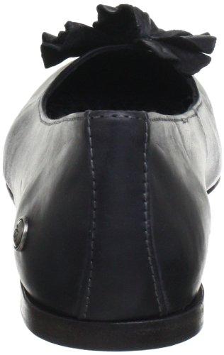 de Bailarinas para S523 MOLINERA Neosens mujer Schwarz cuero Negro Black EtSqZ5w