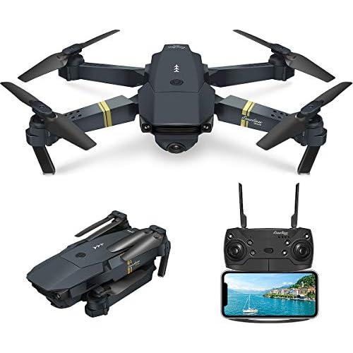 chollos oferta descuentos barato EACHINE E58 Drone con Camara HD 2 0MP 720p Wide Angel Drone con Camara Profesional Drone Video Profesional Drone para Niños WiFi App para iOS Android