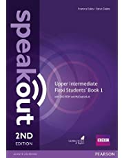 Speakout Upper Intermediate 2nd Edition Flexi Students' Book 1 with MyEnglishLab Pack: Vol. 1