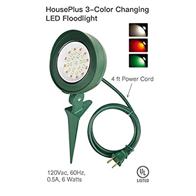 HousePlus LED Garden Light Outdoor, Garden Light LED Low Voltage, LED Outdoor Garden Lights Electric