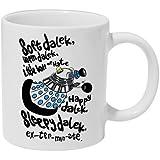 Soft Dalek Dr Who Ceramic Mug Big Bang Parody