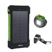 Ikisire 10000mAh Solar Charger - Portabl...