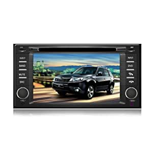 """Tyso For Subaru Forester (after 2008) 7"""" Indash CAR DVD Player GPS Navigation Navi iPod Bluetooth HD Touchscreen TV Radio RDS FM Free Map CD8962"""