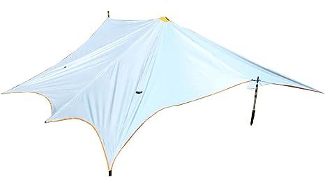 Yx-outdoor Carpa Deportiva Camping pérgola Impermeable Cubierta de Plata Carpa Sombra Lona de Camping, Carpa portátil,Eightcorners: Amazon.es: Deportes y aire libre