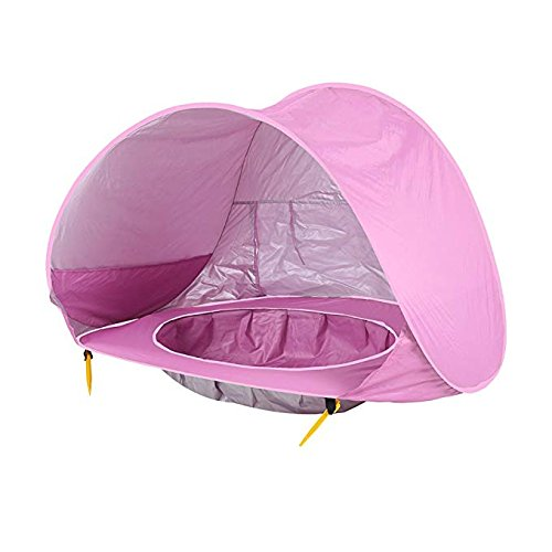 ... Baby Beach Tent Pop Up Collapsible Portable Shade Pool UV Protection Canopy Sun Shelter Playhouse for ...  sc 1 st  Appstone & Baby Beach Tent Pop Up Collapsible Portable Shade Pool UV Protection ...