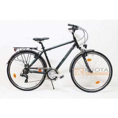 Bianchi City Bike 28 Uomo Spillo Onice 21v Nero Amazonit Sport E