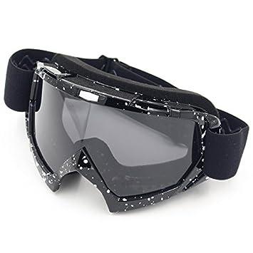 69d0cc0cb1 Gafas protectoras de ciclismo, de la marca Spohife, con protección UV,  Black Frame,Grey Lens: Amazon.es: Deportes y aire libre
