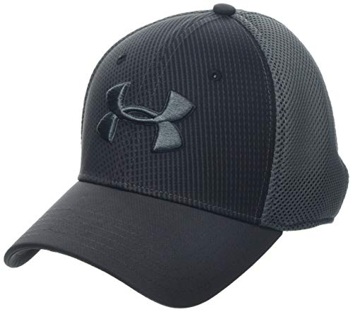 Under Armour Men's Microthread Golf Mesh Cap, Jet Gray//Pitch Gray, Large/X-Large