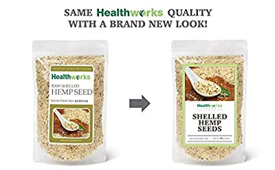 Healthworks Hemp Seeds, Canadian Shelled Pesticide-Free, 1lb