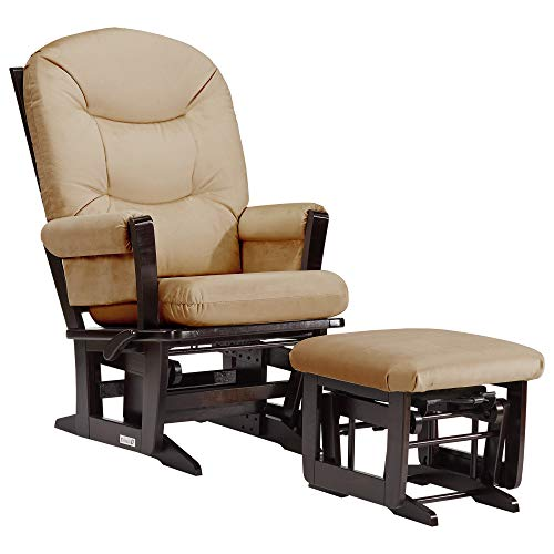 Dutailier Modern 0382 Glider Multiposition-Lock Recline with Ottoman Included ()