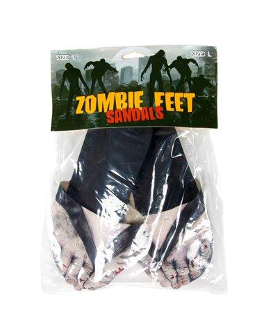 Billy Bob Teeth Inc Mens Zombie Feet Sandals eJoBeT