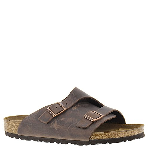 Birkenstock Women's Zurich Sandal,Habana Oiled Leather,44 M EU by Birkenstock