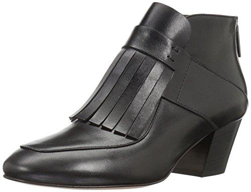 Aquatalia Women's Flynn Ankle Bootie, Black, 7.5 M US