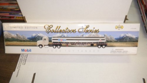 - Mobil 2000 Toy Tanker Limited Edition Collectors Series 1:43 Scale by Mobil
