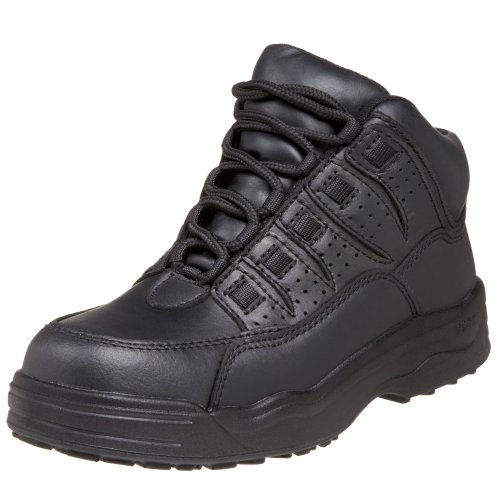 WORX by Red Wing Shoes Men's 6552 Non-Metalic Safety Toe Athletic Mid,Black,9 M