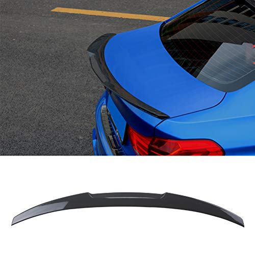- YOUNGERCAR Carbon Fiber Coating Rear Trunk Spoiler Wing Fit 2012-2018 BMW 3 Series F30 F80 M3 V Style