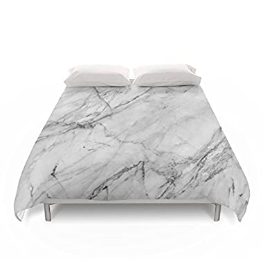 Society6 Marble Duvet Covers Queen: 88  x 88