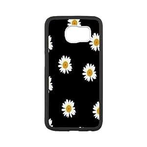 LSQDIY(R) Daisy SamSung Galaxy S6 Customized Case, Unique SamSung Galaxy S6 Durable Case Daisy