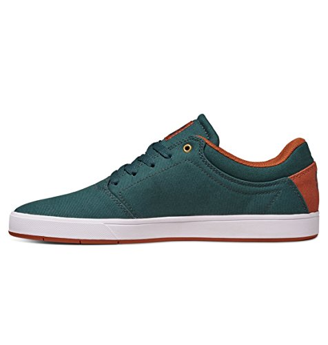 DC Mens Crisis TX Shoes, Dark Green, 12D