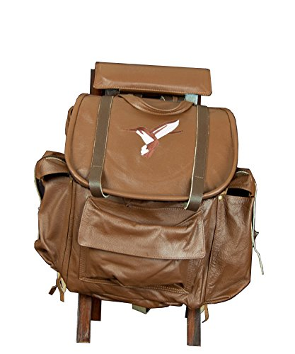 Famars USA Outdoor Multi-Purpose Rucksack Hunting and Fishing Backpack, Saddle Brown