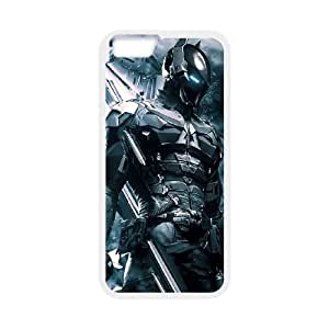 Batman iPhone 6 Plus 5.5 Inch Cell Phone Case White TPU Phone Case SV_033855
