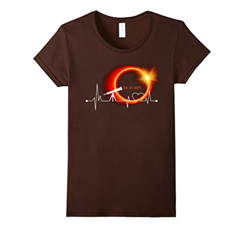 Womens Total Solar Eclipse Summer August 21st 2017 T shirt Large - Sunglasses Eclipse Nasa