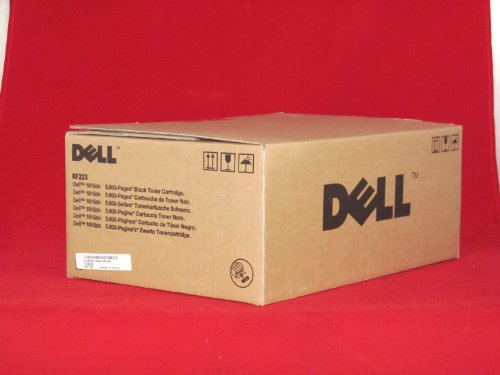 Original Dell RF223 High Yield Toner Cartridge for 1815dn Laser Printer, 310-7945, Black