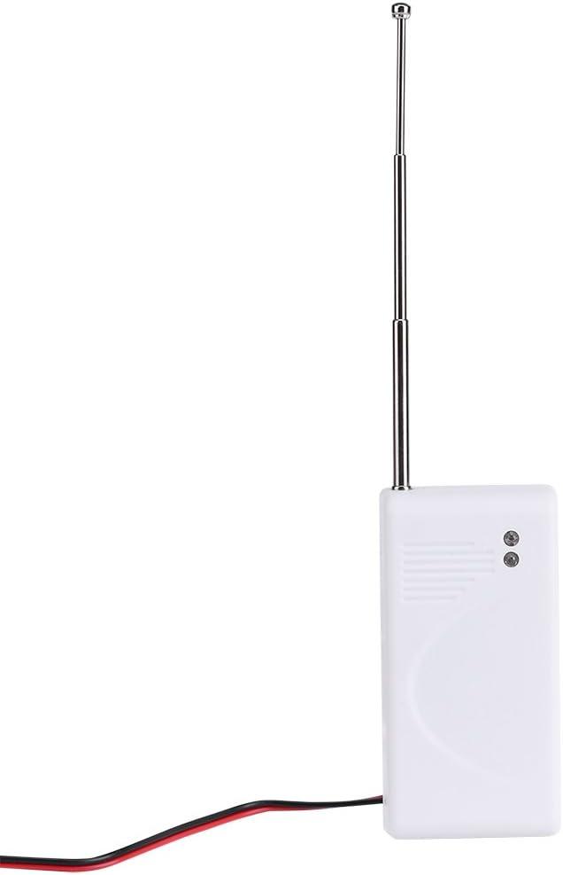 Alarma del agua del s/ótano Alarma cableada del desbordamiento accionado por bater/ía Sensor Detector de la fuga del agua Alarma de la seguridad casera