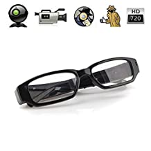 Mengshen Mini Glasses HD 1280×720P Spy Camera Hidden Eyewear Cam DVR Video Recorder DV Camcorder MS-HC14