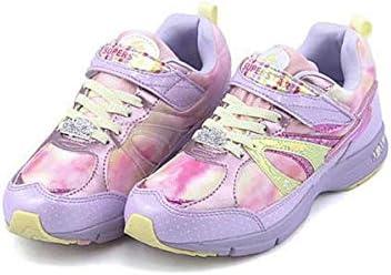 バネのチカラ 女の子 キッズ 子供靴 運動靴 通学靴 ランニングシューズ スニーカー スウィートガールズコレクション ゴム紐 ストラップ クッション性 EE カジュアル スポーツ スクール 学校 SS J7039AS