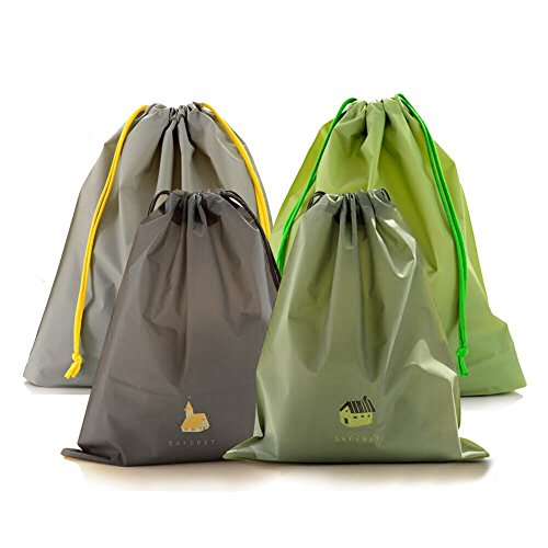 Plastic Drawstring - BINGONE Drawstring Bag Folding Sport Waterproof PE Plastic Home Travel Storage Use
