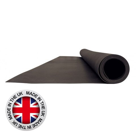 MLV100 - Mass Loaded Vinyl 2m x 1.22m x 4mm 10kg/m2 Acoustic Membrane