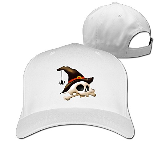 Alexander Halloween Skull Unisex Women Fashion Unicode Solid Peaked Hat Baseball Sport Student Cap (Top 10 Halloween Facts)