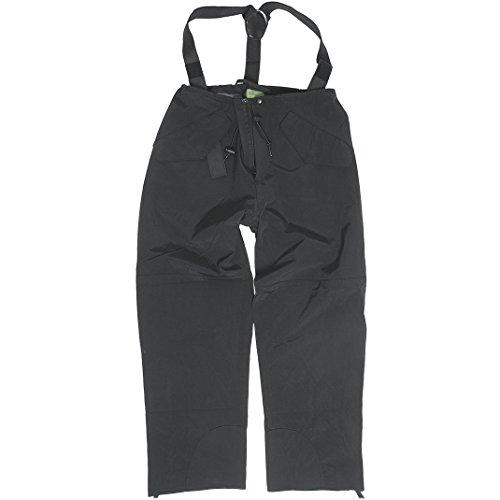 Mil-Tec Hommes Par Temps Pluvieux Trilaminate Pantalon Noir
