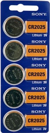 HOME & DECOR Sony CR2025 Lithium Battery (10 Pack) - Cr2025 3v Battery