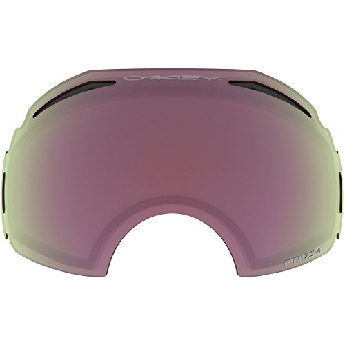 Oakley Men's Airbrake Snow Goggle Replacement Lens, Medium, Prizm Hi Pink, - Iridium Oakley Pink