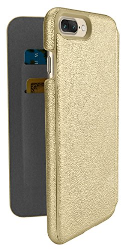 Silk iPhone 7 Plus Wallet Case - Sofi Wallet Case for iPhone 7+ [Lightweight Fashion Grip Card Cover] - Champagne Gold by Silk