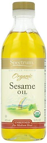 Spectrum Naturals Organic Unrefined Sesame Oil - 16 oz
