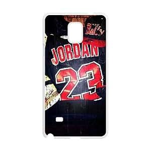 Samsung Galaxy Note 4 Cell Phone Case White Jordan 23 SJ9469827